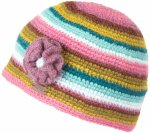 KuSan Crochet Hat with Flower