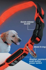 Nite Ize LED Hundehalsband rot - Größe S