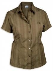 Tatonka Lamas Womens Short Sleeve Shirt turf - Größe 36 Damen